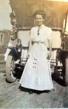 My maternal great grandmother, Luta Lee Helton Shrum.